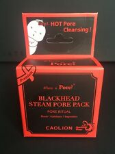 New CAOLION Premium Blackhead Steam Pore Pack Pore Ritual Hot Mask 2 pk K Beauty
