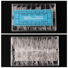 360pcs A case Cotter Pins Assortment Fastner Clip Key Large Industrial Case Kit