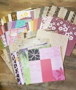 Package #1 - 60 Sheets of Scrapbook Paper - Hello Kitty, Christmas, Victorian..