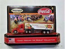 NEW SANTA CLAUS 2000 Matchbox COKE Around The World USA Diesel Truck CHRISTMAS