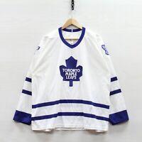 Vintage Toronto Maple Leafs CCM Maska Air Knit Jersey Size XL 90s NHL Stitched