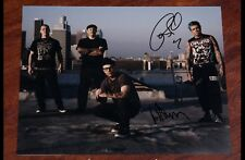 GFA Rancid Band * TIM ARMSTRONG & LARS * Signed 11x14 Photo PROOF R4 COA