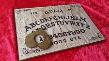 Wooden Ouija Board Game & Planchette LARGE A3 & Instruction Spirit hunt ghost