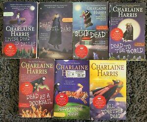 SOOKIE STACKHOUSE CHARLAINE HARRIS PARANORMAL 7 PBACK #1-7 BOOK LOT TRUE BLOOD