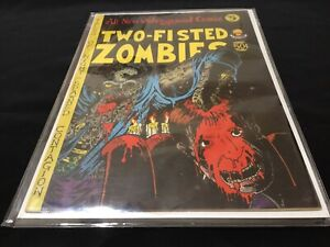 All New Underground Comix #5 TWO-FISTED ZOMBIES ~ Rick Veitch ~ Last Gasp ~ 1973