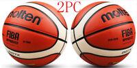 2PC Molten GG7X 7 PU men's basketball in/outdoor basketball training w/ Bag Pin*