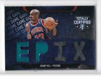 2015-16 Grant Hill #/99 Jersey Panini Totally Certified Pistons