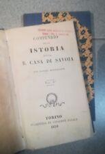 COMPENDIO DELLA ISTORIA DELLA R. CASA DI SAVOIA BERTOLOTTI 1830