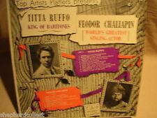 Titta Ruffo / Feodor Chaliapin / TAP Records T-309