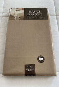 """Basics Tablecloth 60"""" X 84"""" in Oblong 