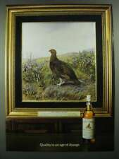 1984 The Famous Grouse Scotch Ad - Quality in an Age of Change