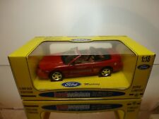 JOUEF 3108 FORD MUSTANG COBRA  500 INDI PACE CAR 1994 - 1:18 - EXCELLENT IN BOX
