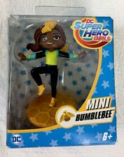 "Mattel DC Super Hero Girls Mini Bumblebee Figure NEW 3"" Doll 2016"