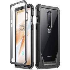 Чехол для OnePlus 8 , поэтическое гибридный бронированный противоударный бампер защитный чехол черный