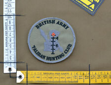 """Ricamata / Embroidered Patch """"British Army Taliban"""" with VELCRO® brand hook"""