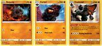 Rebel Clash - Pokemon Evolution Card Set - Coalossal 107/192 - Sword Shield Holo