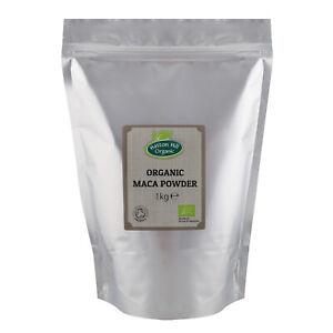 Organic Maca Powder 1kg Certified Organic