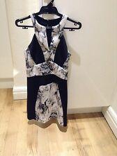 WAYNE COOPER scuba marble dress. size 0. RRP$349. Worn once