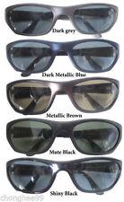 Gradient Plastic Frame Oval Sunglasses for Men