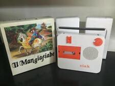 Dielle IL MANGIAFIABE Lettore di Cassette Portatile 20 cm MIB Vintage