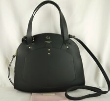 """Radley """"Clarence Road"""" Medium Size Black Leather Multiway Cross Body Bag New"""