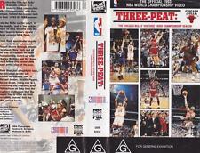 BASKETBALL ~ THREE PEAT~ VHS PAL VIDEO