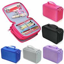 4Fach Federmäppchen 72 teilig Federmappe Federtasche Bleistift Tasche Bag