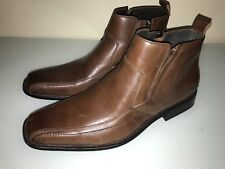 Stacy Adams Brown Leather Boots Men's 11 M Excellent  Condition.