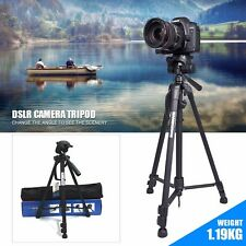 Professional Camera Tripod +Ball Head +Bag Canon Nikon Sony DSLR SLR Lightweight