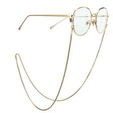 Metall Mode Brillen Sonnenbrillen Lesebrille Brille Kette Halter Brillenbänder