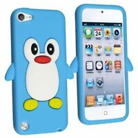 3D Cute Cartoon Penguin Silicone Gel Case Skin For iPod Touch 6 6th Generation