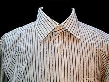 Ben Sherman, Button Front,  Spread Collar, Size: XL Grey  Stripes