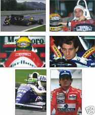 Ayrton Senna F1 Formula One Legend 6 Postcard Set