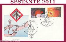 ITALIA FDC FILAGRANO VOLONTARI ITALIANI SANGUE DONIAMO 1977  ANNULLO ROMA H229