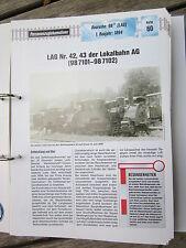 Dampflok Archiv P60: LAG 42,43 Lokalbahn AG BR 98.71 DR
