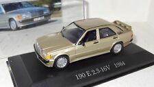 Ixo Mercedes-Benz 190 E 2.3-16 V 1984 1:43 De Agostini PC (R2_1_8)