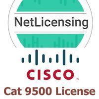 Cisco Catalyst 9500 License, Original Smart License, E-Delivery