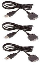 Kit de 3x Cable De Carga Cargador Plomo 30 Pines para Apple iPhone 4,4S, 3GS, iPod, iPad 2