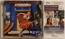 Cyndi Lauper Signed Shes So Unusual CD Autographed JSA COA