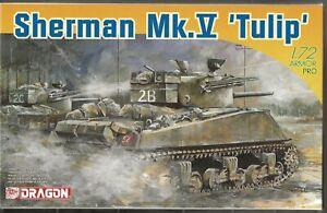 Dragon Armor Pro, Sherman Mk. V 'Tulip'  in 1/72 7312  ST