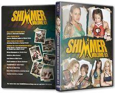 Official Shimmer Women Athletes Volume 61, Female Wrestling Event DVD