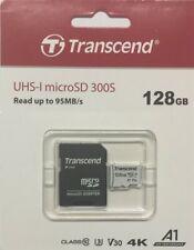 Transcend 128GB microSDXC/SDHC 300S Speicherkarte mit Adapter