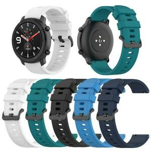 22mm Silicone Watchband Wrist Strap Belt for Amazfit GTR 47mm/Pace/Stratos