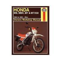 Honda Mb, Mbx, Mt & Mtx50 (80 - 93) by Haynes Publishing (author)