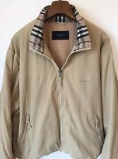 Burberry London Harrington - Jacket Coat Windbreaker - Cream Color Large - L@@K