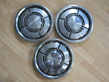 HUBCAP VINTAGE 1980 MERCURY BOBCAT/FORD PINTO LOT OF 3 13 INCHES A11710