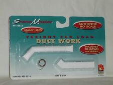 LIFE-LIKE TRAINS HO SCALE SCENE MASTER FREIGHT CAR LOAD DUCT WORK #433-1514