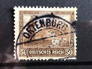 DR Nothilfe Bauwerke Mi - Nr. 453 . Zentrisch gestempelt Ortenburg .