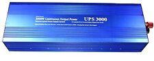 3000w (6000W peak) power inverter 3000 watt 12v soft start 220v-240v Charger UPS