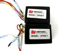 Lot Of (2) Federal Signal Unitrol UPKM-1 Park Kill Module